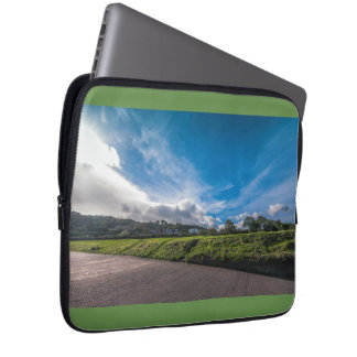 Irish landscape laptop sleeve