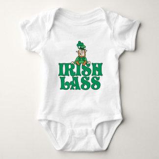 Irish Lass Little Leprechaun Baby Bodysuit