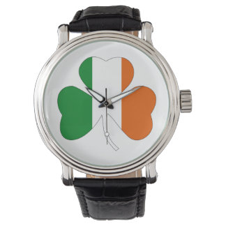 irish leaf symbol flag clover symbol ireland watch