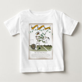 irish left wing footballer baby T-Shirt