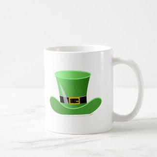 Irish Leprechaun Hat Lucky St. Patrick's Day Classic White Coffee Mug