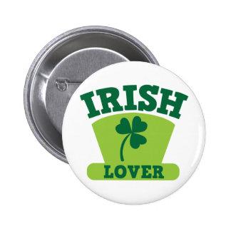 IRISH LOVER 2 INCH ROUND BUTTON