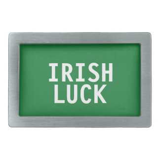 Irish Luck Belt Buckle