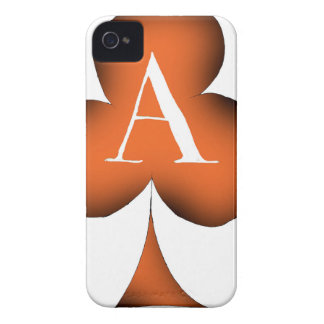 Irish 'Lucky' Ace of Clubs by Tony Fernandes iPhone 4 Case-Mate Cases