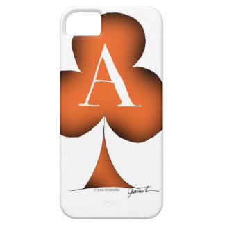 Irish 'Lucky' Ace of Clubs by Tony Fernandes iPhone 5 Covers