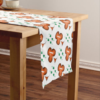 Irish 'Lucky' Ace of Clubs by Tony Fernandes Short Table Runner