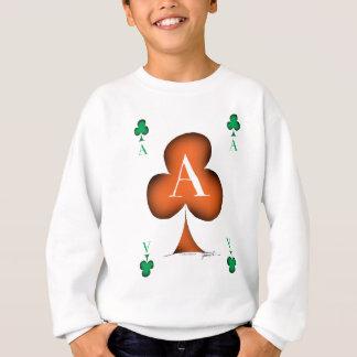 Irish 'Lucky' Ace of Clubs by Tony Fernandes Sweatshirt