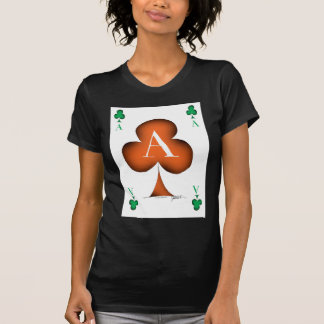 Irish 'Lucky' Ace of Clubs by Tony Fernandes T-Shirt