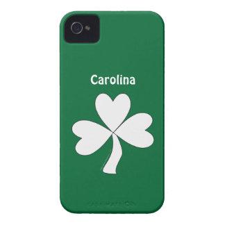 Irish Lucky Shamrock St Patrick Custom Name iphone iPhone 4 Case-Mate Cases