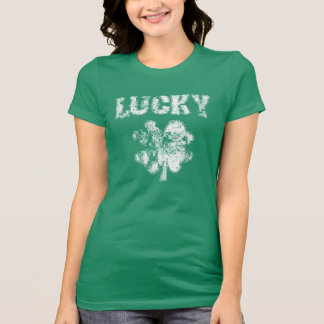 Irish Lucky Shamrock T-Shirt