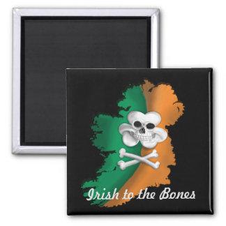 IRISH MAGNET. ST PATRICKS DAY IRISH TO THE BONE MAGNET