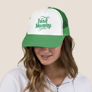 Irish Mammy, Irish Slang Hat, Ireland Trucker Hat