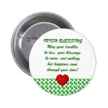 Irish Marriage Blessing Button