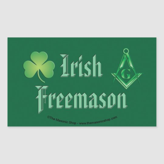 Irish Mason Sticker