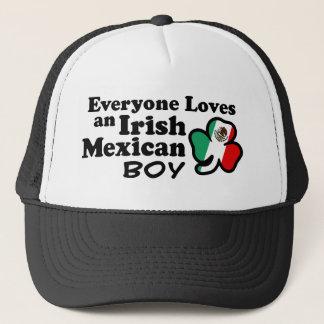 Irish Mexican Boy Trucker Hat