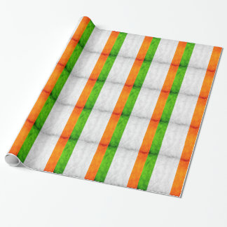 Irish National flag wrapping paper bywhacky