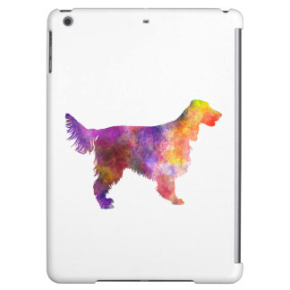 Irish Network Setter 01 in watercolor 2 Case For iPad Air