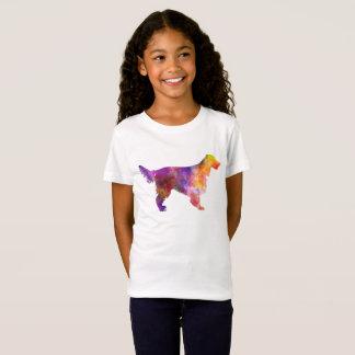 Irish Network Setter 01 in watercolor 2 T-Shirt
