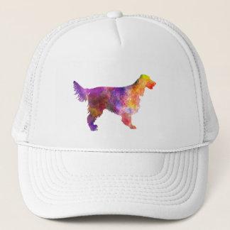 Irish Network Setter 01 in watercolor 2 Trucker Hat