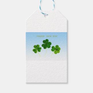 Irish New-Years-Day Gift Tags