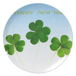 Irish New-Years-Day Party Plate