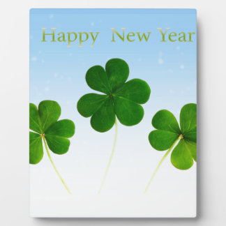 Irish New-Years-Day Plaque