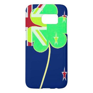 Irish New Zealand Flag Shamrock Clover St. Patrick Samsung Galaxy S7 Case