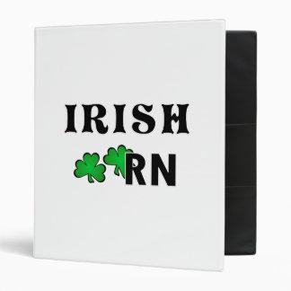 Irish Nurse RN Binder