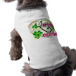 Irish Nurse T-Shirts and Gifts Dog Tee
