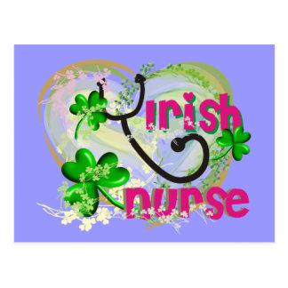 Irish Nurse T-Shirts and Gifts Postcards