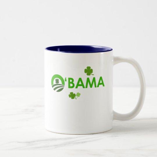 Irish O'Bama Two-Tone Coffee Mug