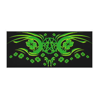 Irish Pagan Canvas Print