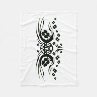 Irish Pagan Fleece Blanket