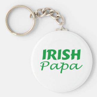 Irish Papa Keychain