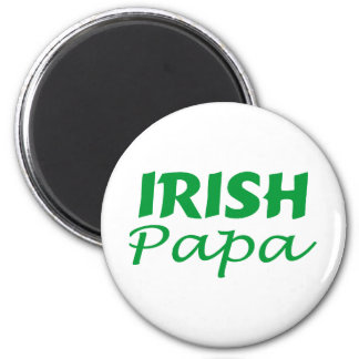 Irish Papa Magnet