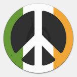 Irish Peace Sign Sticker