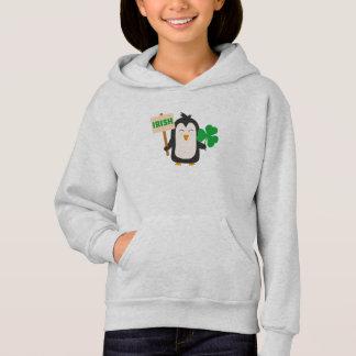 Irish Penguin with shamrock Zjib4