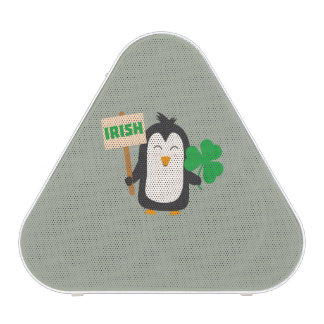 Irish Penguin with shamrock Zjib4 Blueooth Speaker