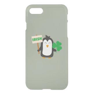 Irish Penguin with shamrock Zjib4 iPhone 8/7 Case