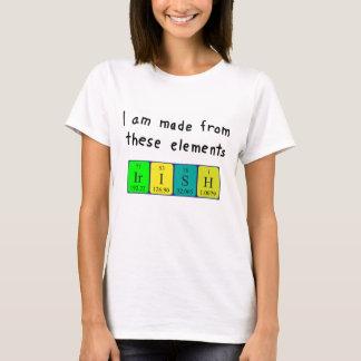 Irish periodic table patriotic shirt
