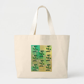 IRISH PIPES ~ ERIN GO BRAGH PATTERN LARGE TOTE BAG