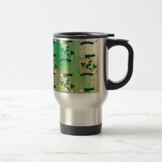IRISH PIPES ~ ERIN GO BRAGH PATTERN TRAVEL MUG