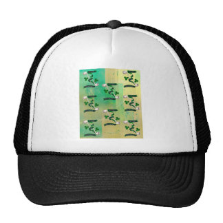 IRISH PIPES ~ ERIN GO BRAGH PATTERN TRUCKER HAT