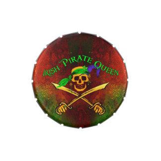 Irish Pirate Queen Candy Tin