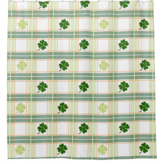 Irish Plaid Shamrock