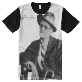 Irish Poet  Men's-All-Over-Printed-Panel-T Shirt
