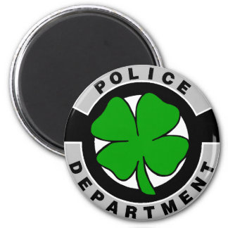Irish Police Officers 2 Inch Round Magnet