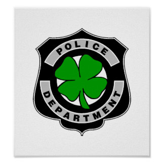 Irish Police Officers Poster