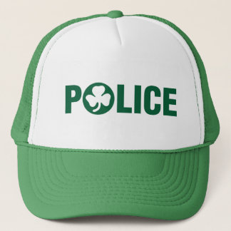 Irish Police Trucker Hat