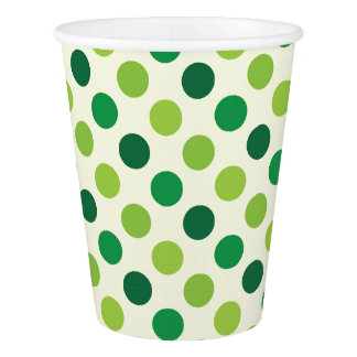 Irish Polka Dots Paper Cup